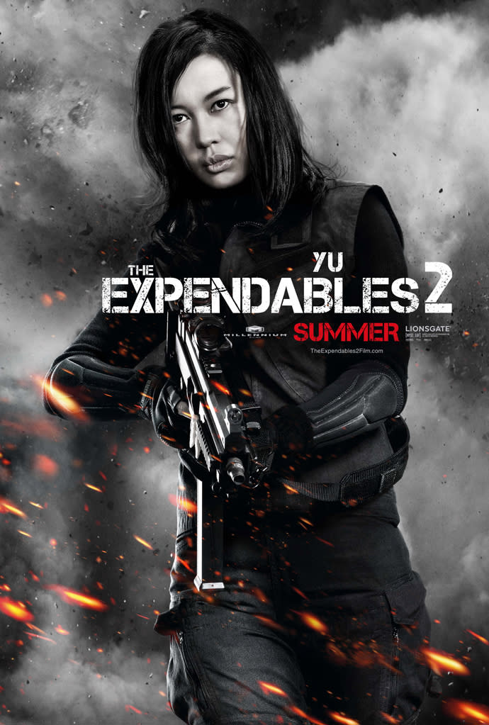 """Nan Yu in Lionsgate's """"The Expendables 2"""" - 2012"""