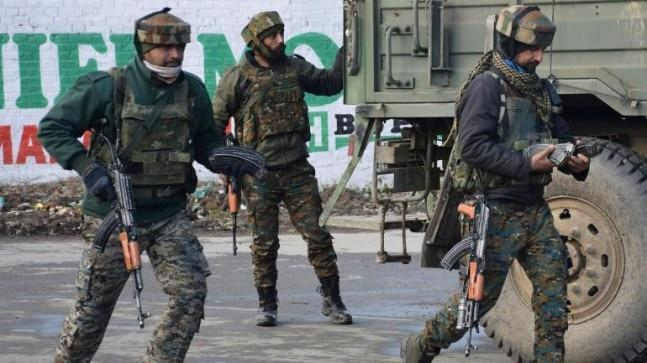 Five militants have been gunned down in four separate encounters in Jammu and Kashmir in the last 24 hours.