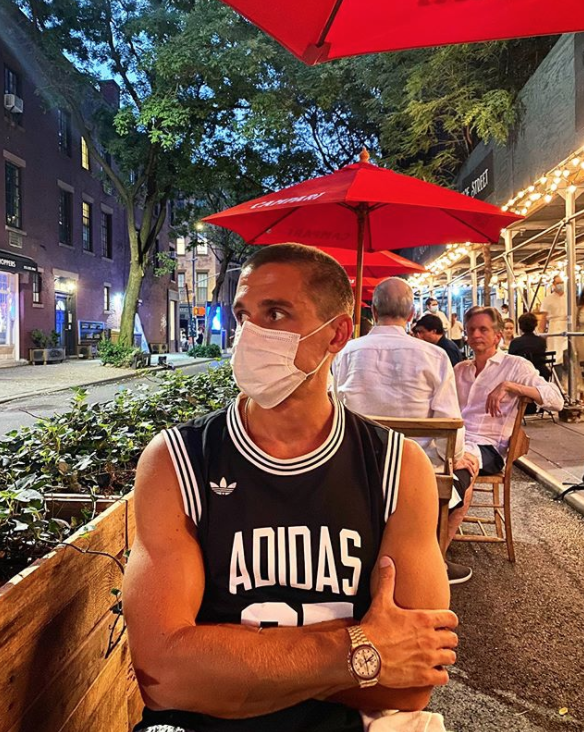 <p><strong>Shaved</strong></p><p>Quarantine made people change their looks drastically, including the food expert, as he revealed a shaved look late July 2020. </p>