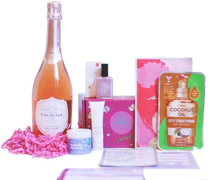 """<h2>90 Point Sparkling Wine & Spa Gift Set</h2><br>And if you do decide to go the sparkling wine route, consider pairing it with a luxe assortment of self-care goodies. <br><br><em>Shop <strong><a href=""""https://www.wine.com/list/gifts/7151"""" rel=""""nofollow noopener"""" target=""""_blank"""" data-ylk=""""slk:Wine.com"""" class=""""link rapid-noclick-resp"""">Wine.com</a></strong></em> <br><br><strong>Multiple Brands</strong> 90 Point Sparkling Wine & Spa Gift Set, $, available at <a href=""""https://go.skimresources.com/?id=30283X879131&url=https%3A%2F%2Fwww.wine.com%2Fproduct%2F90-point-sparkling-wine-and-spa-gift-set%2F644447"""" rel=""""nofollow noopener"""" target=""""_blank"""" data-ylk=""""slk:Wine"""" class=""""link rapid-noclick-resp"""">Wine</a>"""