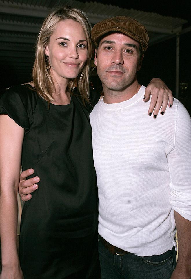 "Leslie Bibb and Jeremy Piven. Chris Weeks/<a href=""http://www.wireimage.com"" target=""new"">WireImage.com</a> - May 31, 2007"