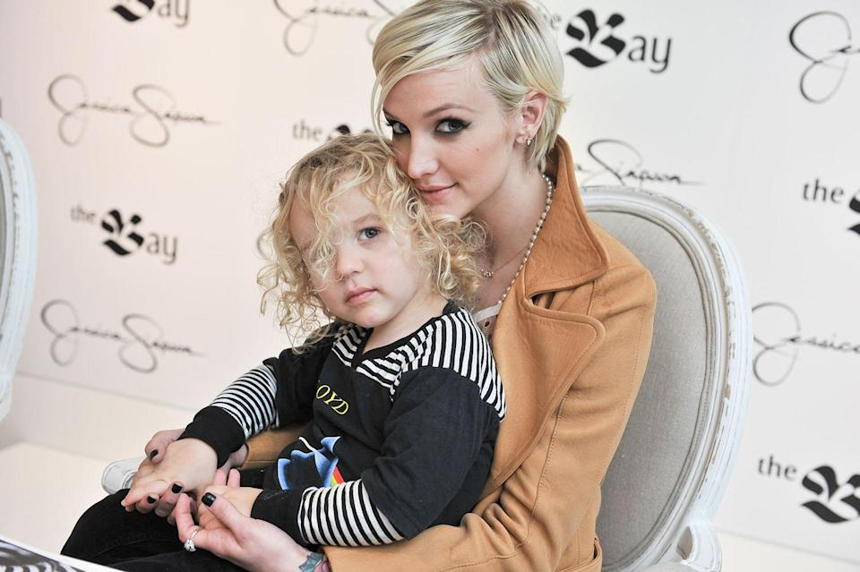<p>Ashlee Simpson became a mother at 24. (Photo by George Pimentel/Getty Images for Bay) </p>