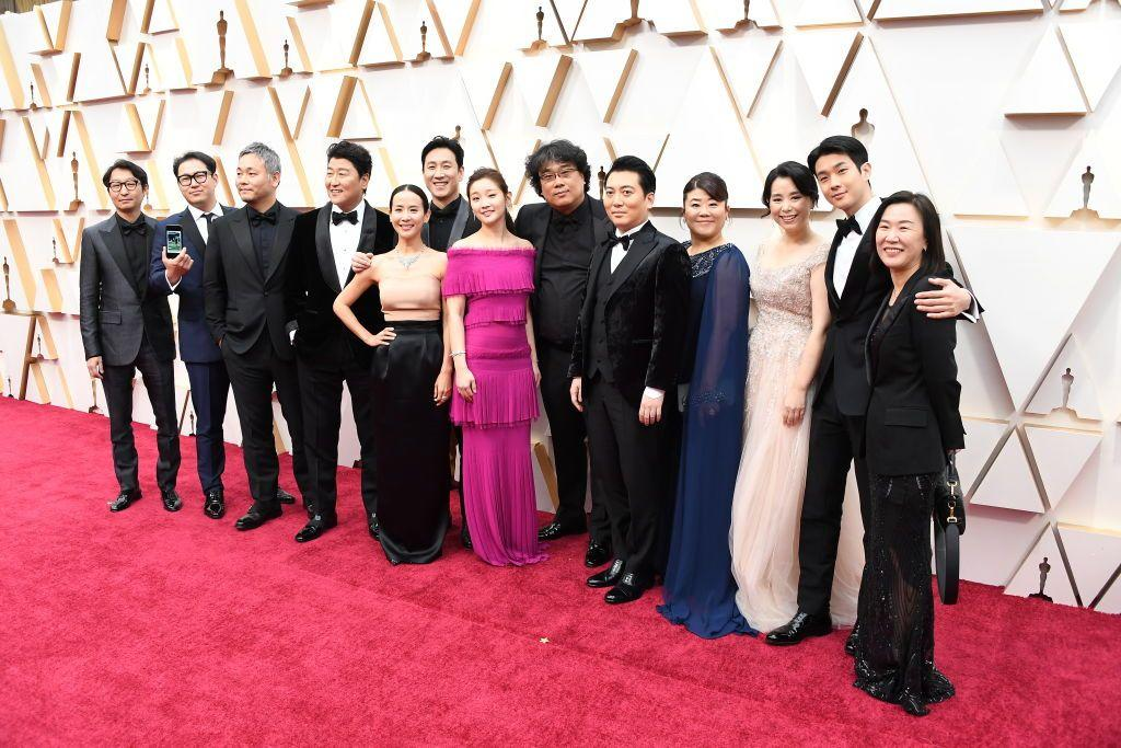 """<p><em>Parasite </em>mania consumed the Oscars this year as Bong Joon-ho's satirical thriller took home awards for Best Picture, Best Director, Best Screenplay, and Best International Feature. </p><p>Yet despite the undeniable sweep, the Academy overlooked individual acting performances from the cast, even after the ensemble earned trophies <a href=""""https://www.harpersbazaar.com/culture/art-books-music/a30589142/parasite-historic-sag-award-win/"""" target=""""_blank"""">from the SAG Awards</a> and actresses Lee Jeong-eun and Cho Yeo-jeong <a href=""""https://www.soompi.com/article/1367176wpp/winners-of-the-40th-blue-dragon-film-awards"""" target=""""_blank"""">won acting awards</a> in South Korea's equivalent of the Oscars. The stars of this chilling social commentary deserve their moment in the spotlight just as much as the A-list ensembles from, say, <em>The Irishman</em> or <em>Once Upon a Time … in Hollywood</em> got. I mean, they were on the red carpets (and walking away with statues) at every award show anyway! </p><p>Whether you're watching <em>Parasite</em> <a href=""""https://www.harpersbazaar.com/culture/film-tv/a30845464/how-to-watch-parasite-online/"""" target=""""_blank"""">for the first time</a> or still reeling over it, here's a brief guide of its cast. </p>"""