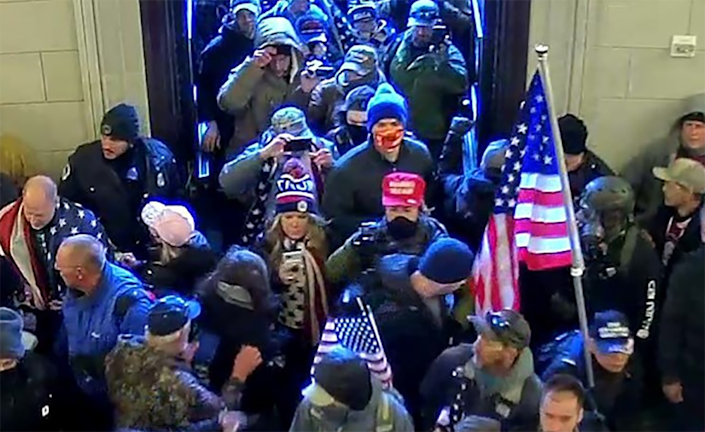 Image: Jenna Ryan entering the Capitol (U.S. Attorney's Office)