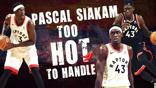Pascal Siakam has been extra spicy this season for the Raptors.