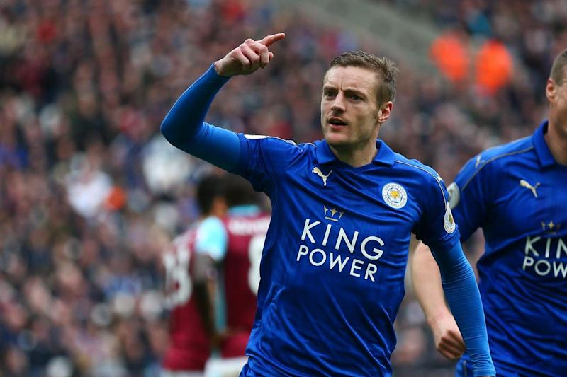 Striking Call | Vardy turned down a move to north London last summer to remain at Leicester: Steve Bardens/Getty Images