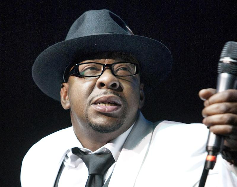 FILE - In this Feb. 18, 2012 file photo, singer Bobby Brown, former husband of the late Whitney Houston performs at Mohegan Sun Casino in Uncasville, Conn.  Brown is scheduled to turn himself in today, March 20,2013 to begin serving a 55-day jail sentence for DUI.  (AP Photo/Joe Giblin, File)