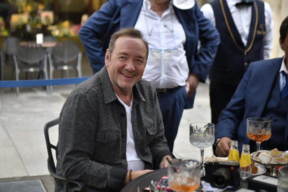 Kevin Spacey in Turin.