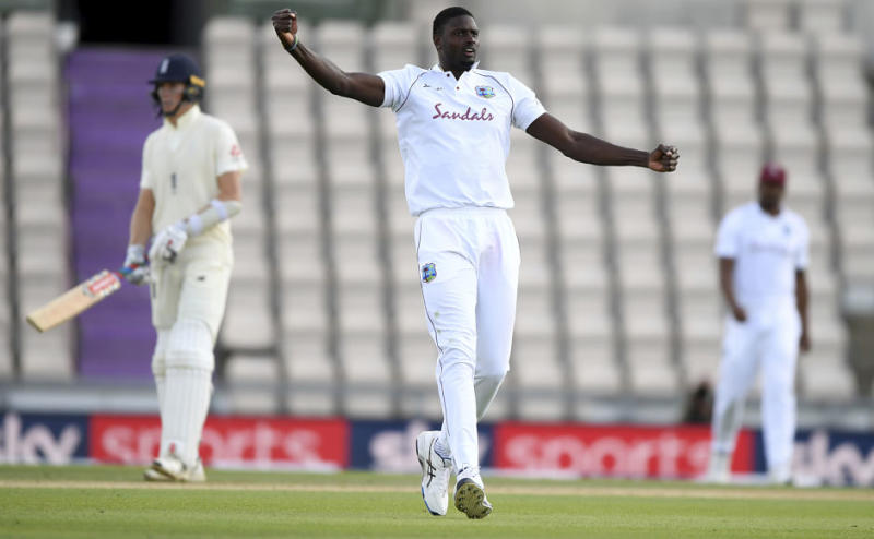 West Indies captain Jason Holder led from the front and picked up a six-for in the first innings. AP