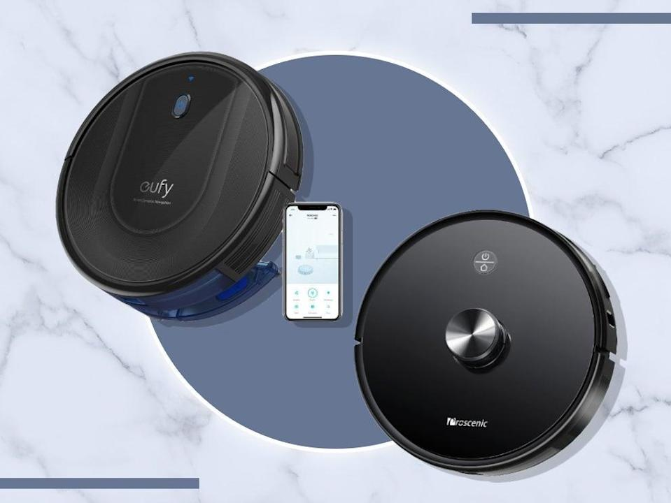 <p>Our top picks boast nifty features like room mapping, automatic dirt disposal and even voice control </p> (iStock/The Independent )