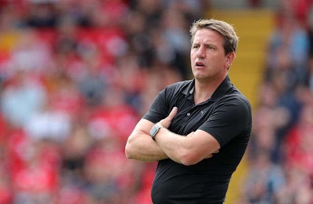 Barnsley manager Daniel Stendel during the Sky Bet Championship match at Oakwell Barnsley. (Photo by Richard Sellers/PA Images via Getty Images)