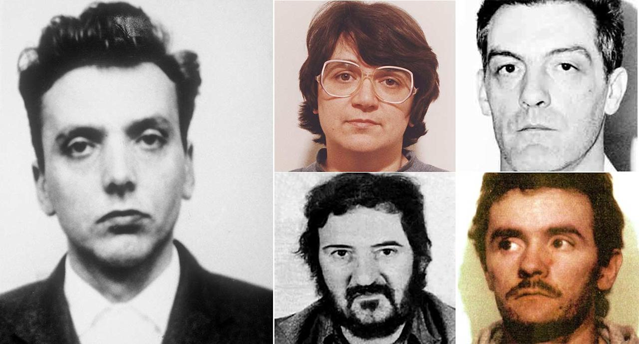 <p>Brady was one of Britain's longest serving prisoners, having spent 51 years behind bars. Here are the killers who remain imprisoned. (Pictures: Rex/Getty) </p>