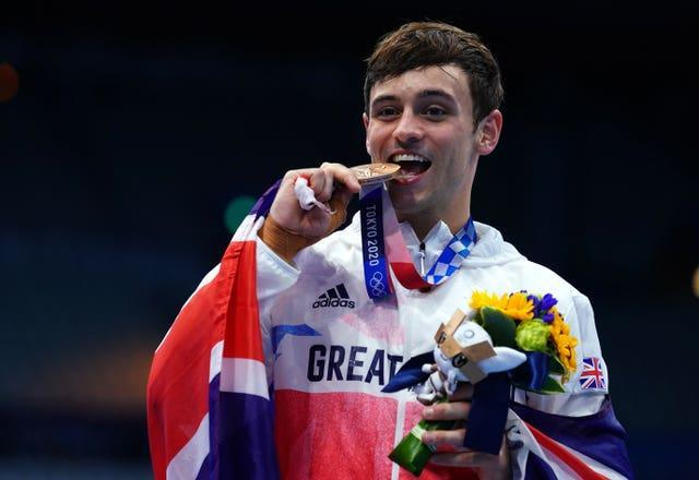 Daley has won four medals at the Olympics (Adam Davey/PA)