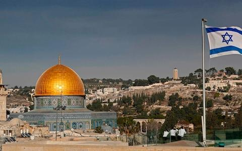 The Dome of the Rock in the Al-Aqsa mosque compound, Islam's third holiest shrine - Credit: AFP