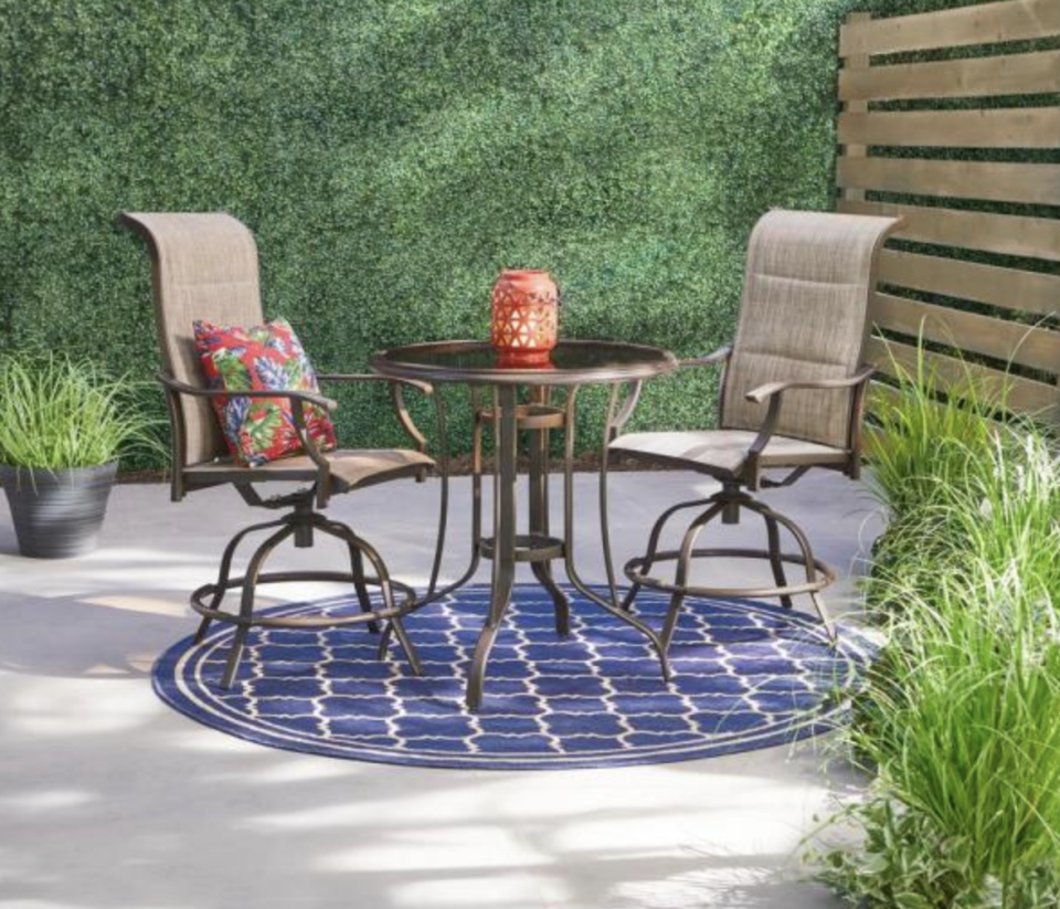 Imagine reading the newspaper here each morning. (Photo: The Home Depot)