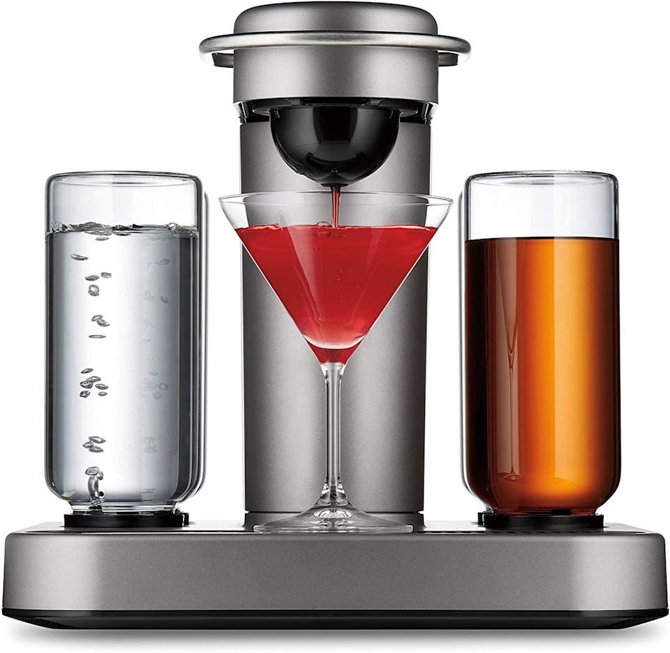 """<p>They can create endless craft cocktails in the comfort of their home with the <span>Bartesian Premium Cocktail and Margarita Machine</span> ($350). Best part: no measuring or mess; the machine does everything for them. Check out our <a href=""""https://www.popsugar.com/food/bartesian-review-48297839"""" class=""""link rapid-noclick-resp"""" rel=""""nofollow noopener"""" target=""""_blank"""" data-ylk=""""slk:in-depth review"""">in-depth review</a> ($350).</p>"""