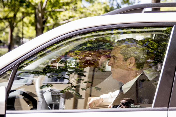 Special counsel Robert Mueller departs Easter services at St. John's Episcopal Church in Washington on April 21. (Photo: AP/Andrew Harnik)