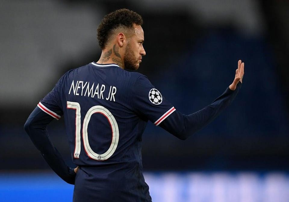 <p>PSG's expensive forward Neymar is set for a contract renewal</p> (Getty Images)