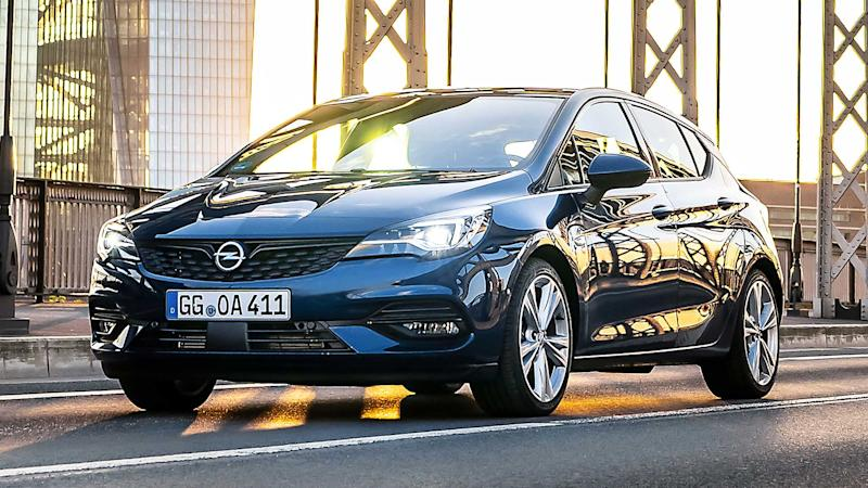 Opel Astra restyling 2019