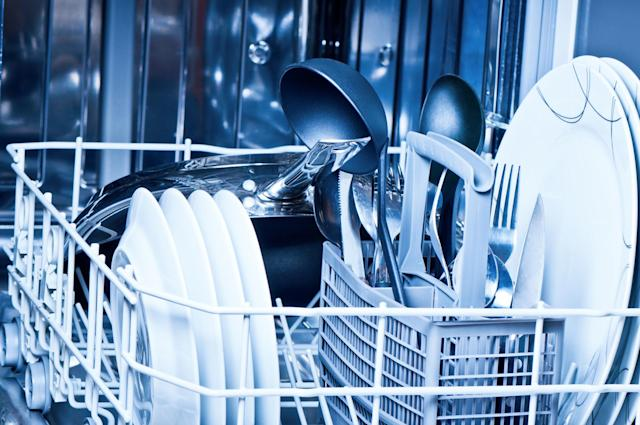 Why you shouldn't put non-stick pans in the dishwasher [Photo: Getty]