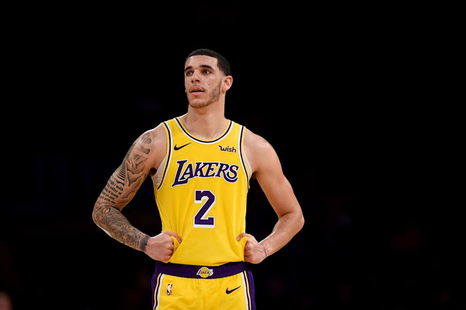 If it means getting Anthony Davis, the Lakers will not hesitate to make Lonzo Ball a pawn against his wishes. (Getty)