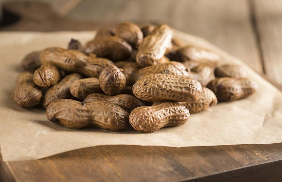 "<p><a href=""https://www.thedailymeal.com/boiled-peanuts-recipe?referrer=yahoo&category=beauty_food&include_utm=1&utm_medium=referral&utm_source=yahoo&utm_campaign=feed"" rel=""nofollow noopener"" target=""_blank"" data-ylk=""slk:Boiled peanuts"" class=""link rapid-noclick-resp"">Boiled peanuts</a> are salty and slightly mushy peanuts that almost take on the form of beans, and can be found at roadside stands and gas stations across the South. But people from<a href=""https://www.thedailymeal.com/best-food-drink-south-carolina-2018-slideshow?referrer=yahoo&category=beauty_food&include_utm=1&utm_medium=referral&utm_source=yahoo&utm_campaign=feed"" rel=""nofollow noopener"" target=""_blank"" data-ylk=""slk:South Carolina"" class=""link rapid-noclick-resp""> South Carolina</a> have such a fondness for this food product that they named boiled peanuts the official state snack in 2006.</p>"