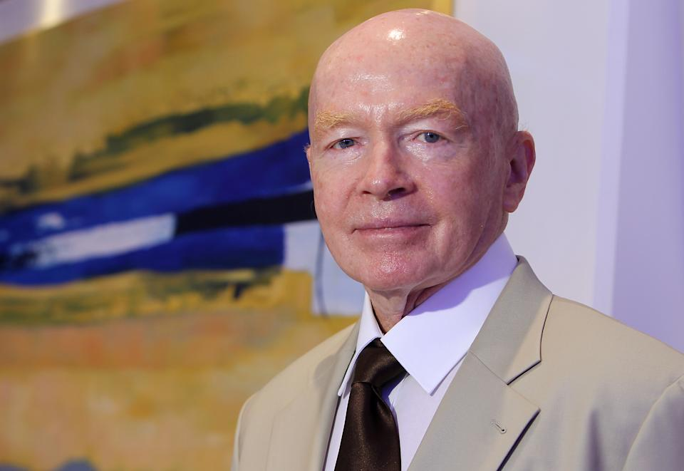 Mark Mobius, Executive Chairman of Templeton Emerging Markets Group poses for picture in Central. 16AUG13 (Photo by Edmond So/South China Morning Post via Getty Images)