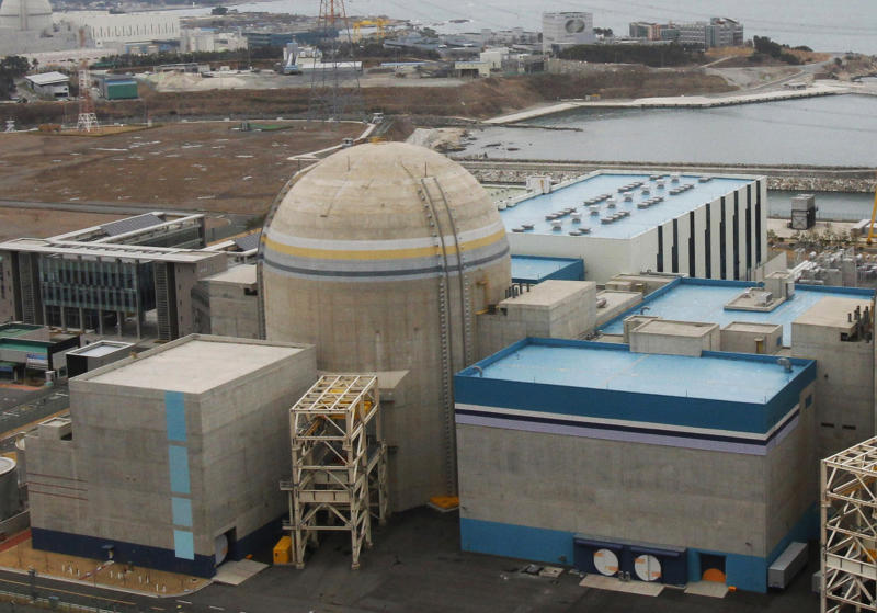 SKorea idles 2 nuke plants after cable tests faked
