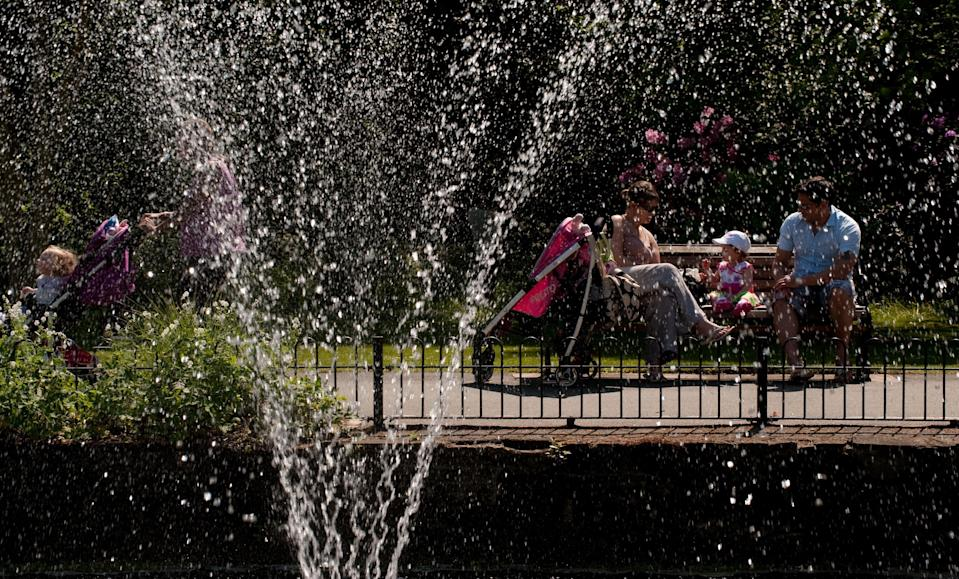 Water in Roundhay Park, Leeds (Gareth Copley/PA) (PA Archive)