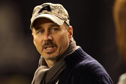 Yankees general manager Brian Cashman has grown a goatee. Or something like that. (USA Today)