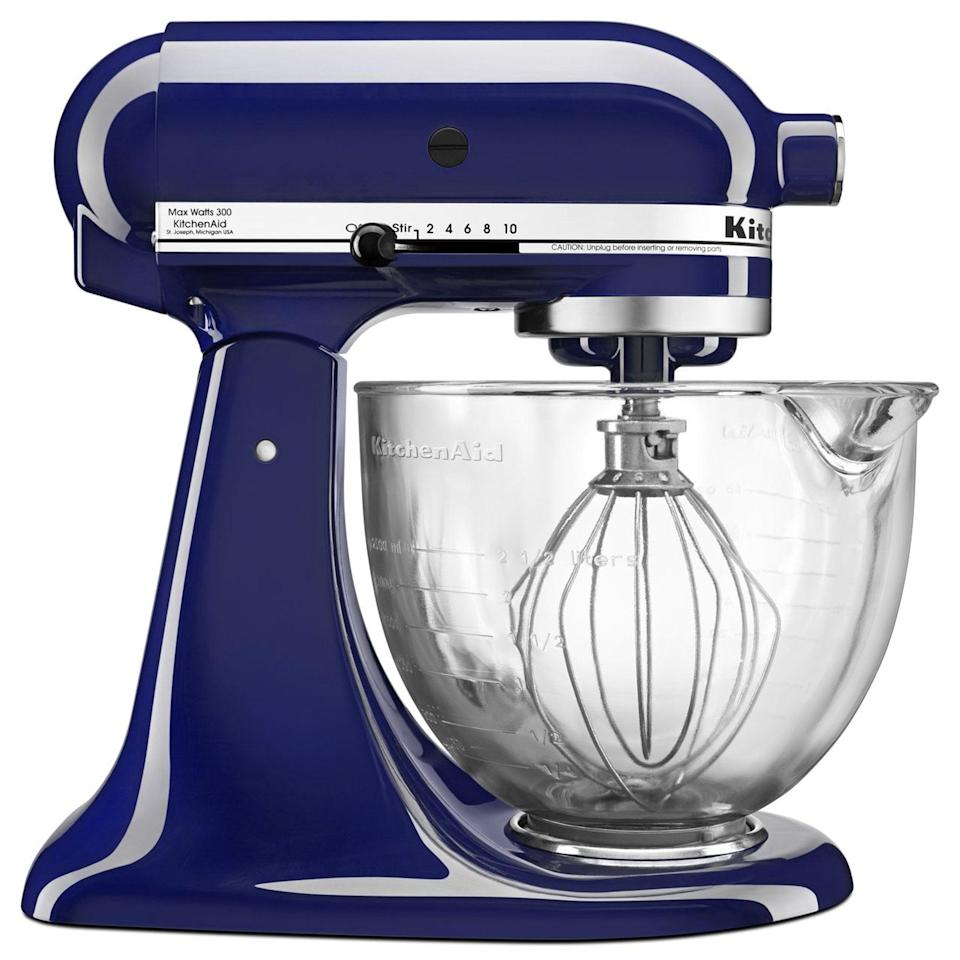 <p>Snatch up this <span>KitchenAid® 100 Year Limited Edition Quart Tilt-Head Stand Mixer</span> ($350, originally $400) before everyone else beats you to it!</p>