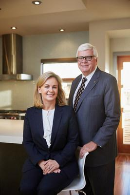 Leadership transition at West Canadian Digital Imaging includes Karen Brookman (left) being named President and CEO and George Brookman (right) assuming the role of Chairman and Company Ambassador. (CNW Group/West Canadian Digital Imaging Inc.)