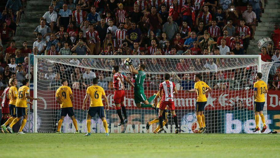 <p>It was an uncharacteristically nervy and unconvincing defensive display from Atletico against Girona, one that will have concerned Simeone.</p> <br /><p>Goalkeeper Jan Oblak was left far too exposed on numerous occasions, and produced a sublime reflex save in injury time to ensure his side left with a point. Atletico undoubtedly missed two of the key components of their usually reliable back four; Diego Godin and Filipe Luis, but they would still have expected better.</p> <br /><p>They will need to quickly rediscover the typical defensive organisation that has been a staple of Simeone's teams in recent years.</p>