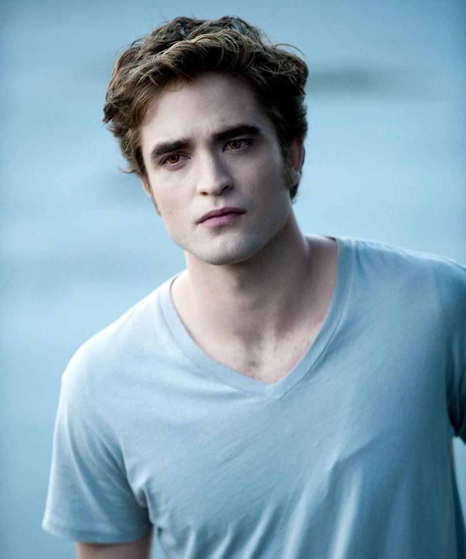 <p>Before <em>Twilight</em> came out, <em>Harry Potter </em>fans knew Rob as the hot Hufflepuff Cedric Diggory, but once he was cast as Edward, he became everyone's favorite heartthrob. Who doesn't love pale, sparkly skin, right!? </p>