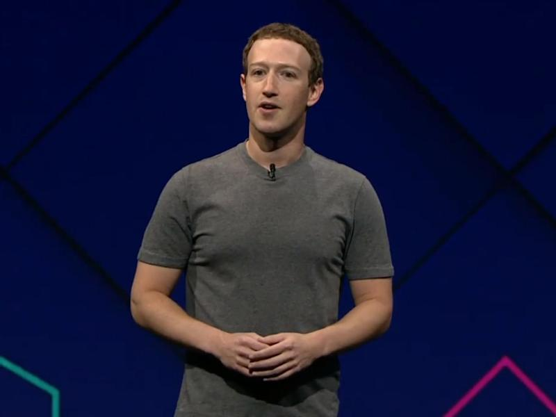 At one point in the demonstration, Mark Zuckerberg made sharks circle a cereal bowl