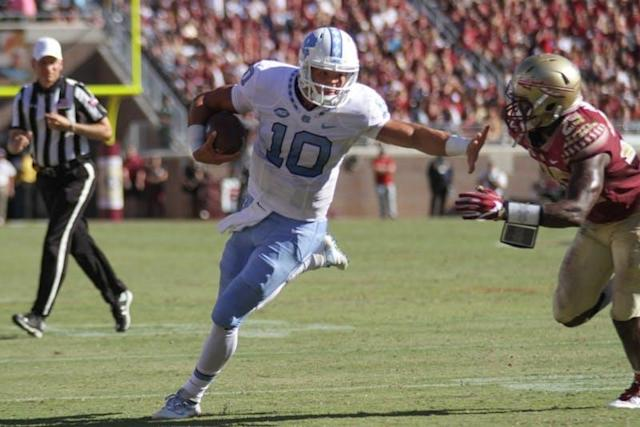 Tar Heels in the pros: Breaking down Trubisky and Ebron's Week 7 performances