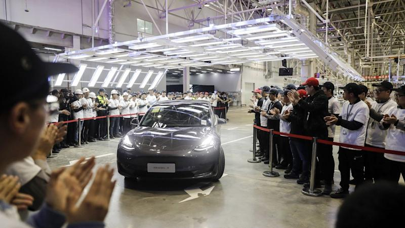 Tesla cuts the price of China-made Model 3 cars by 9 per cent to compete with home-grown brands in world's No. 1 car market