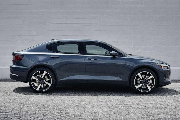 PHOTO: The Polestar 2 has a minimalist, Scandinavian-influenced design.<p>(Polestar)