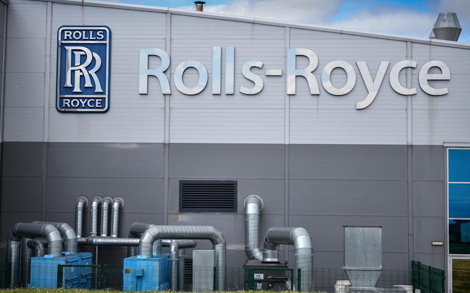 INCHINNAN, SCOTLAND - JUNE 11: A general view of the Rolls Royce Inchinan factory on June 11, 2020 in Inchinnan, Scotland. Jet engine manufacturer Rolls-Royce is expected to cut 20% of it's workforce, including 700 jobs at the Inchinnan plant, following a sharp decline in business as a result of the coronavirus outbreak - Jeff J Mitchell/Getty Images Europe