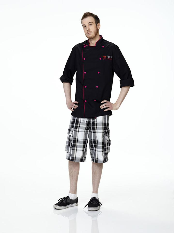 "Craig Poirier competes in season 2 of ""Top Chef Just Dessertsh."""