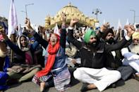 The protests are posing an enormous challenge to Prime Minister Narendra Modi