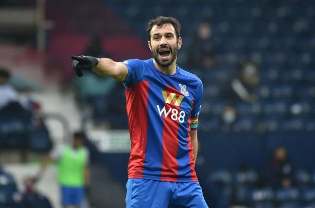 Crystal Palace's Luka Milivojevic featured in the win over Sheffield United