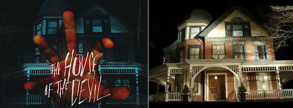 <p>The title house from the 2009 horror flick starring Jocelin Donahue as the unwitting victim of devil worship and Greta Gerwig as her bestie was actually a secluded Victorian home in rural Lime Rock, Connecticut. In real-life, it's an attorney's office.</p>