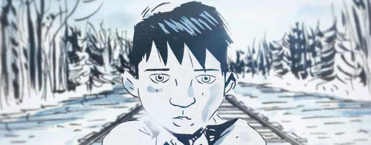 A scene from The Secret Path special, which was based on Gord Downie's album and Jeff Lemire's graphic novel. It tells the story of Chanie Wenjack, who died trying to escape a residential school. Photo from YouTube