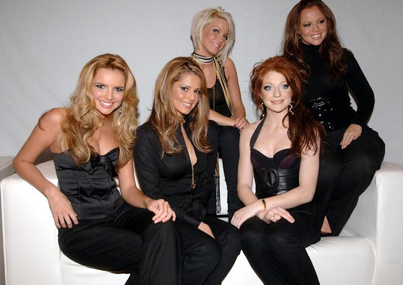 Girls Aloud at the The BBC Radio 1 Chart Show Live, which is being held at the Brighton Dome, Brighton.