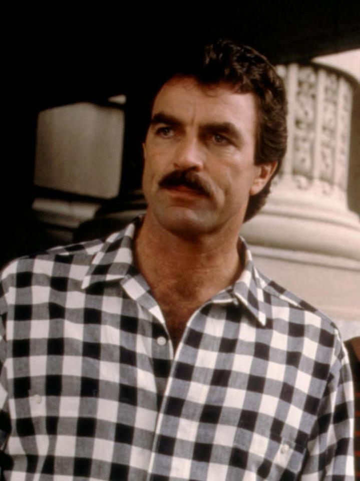 """Tom Selleck<br>""""Three Men and a Baby"""" (1987)"""
