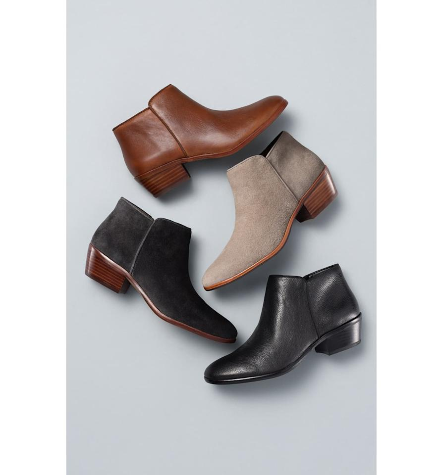 "<p>Nordstrom has given us a sneak peek at some of its best <a href=""https://click.linksynergy.com/deeplink?id=93xLBvPhAeE&mid=1237&murl=https%3A%2F%2Fshop.nordstrom.com%2Fc%2Fblack-friday%3F&u1=RS%2CTheBestComfortableShoeDealstoSnagThisBlackFridayandCyberMonday%2Ckholdefehr1271%2CSHO%2CIMA%2C636542%2C201911%2CI"" target=""_blank"">Cyber Sale deals to come</a>. The one that's really catching our eye: the Sam Edelman Petty Boot will be on sale in select colors for $78 (originally $130) starting on Wednesday, November 27. Set your alarm clocks! </p> <p><strong>To buy: </strong>$78 (originally $130), <a href=""https://click.linksynergy.com/deeplink?id=93xLBvPhAeE&mid=1237&murl=https%3A%2F%2Fshop.nordstrom.com%2Fs%2Fsam-edelman-petty-chelsea-boot-women%2F3212698%2Ffull&u1=RS%2CTheBestComfortableShoeDealstoSnagThisBlackFridayandCyberMonday%2Ckholdefehr1271%2CSHO%2CIMA%2C636542%2C201911%2CI"" target=""_blank"">nordstrom.com</a>. </p>"