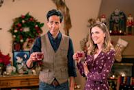 <p><strong>Friday, November 6 at 8 p.m. </strong></p><p>Travel writer Caroline Williams (played by<strong> Sara Canning</strong>) isn't excited about her recent assignment to cover a Christmas parade in New Mexico. Once she lets her bitterness subside, she rediscovers the beauty of Christmas, with the help of the town's high school music teacher, Oscar (played by <strong>Zak Santiago</strong>). </p>