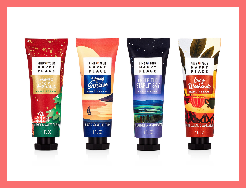 Find Your Happy Place Moisturizing Hand Cream Variety Pack. (Photo: Walmart)