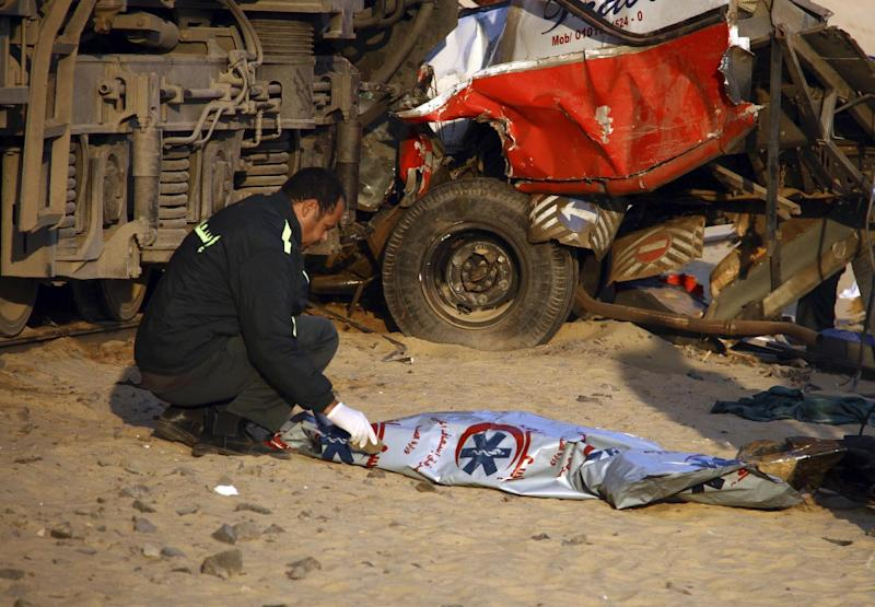 Egypt: Death toll in train accident rises to 26